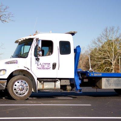 rollback wrecker truck